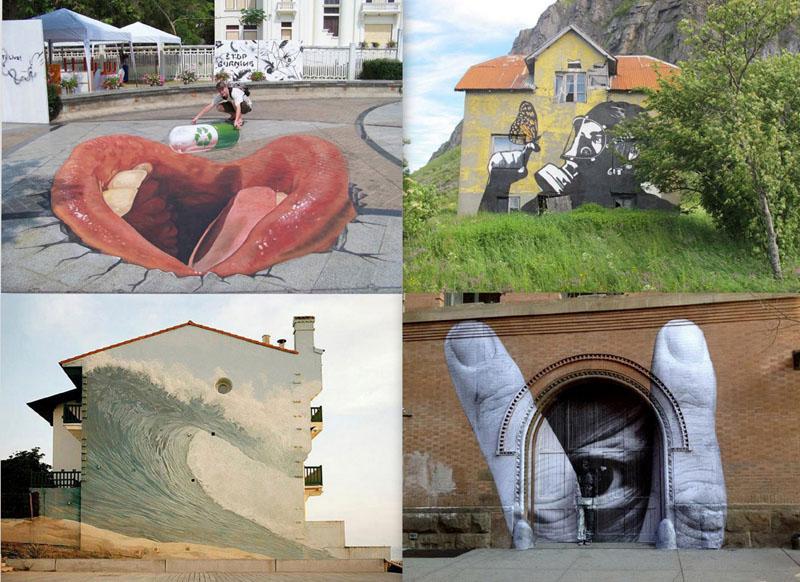 street art Лучшие образцы нового стрит арта со всего мира