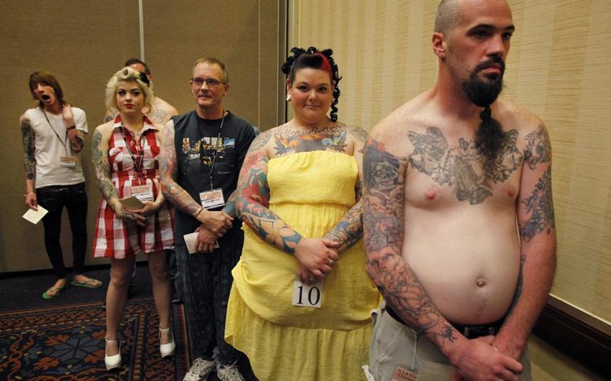 tattoo 08 Среди американцев разыгралась тату мания
