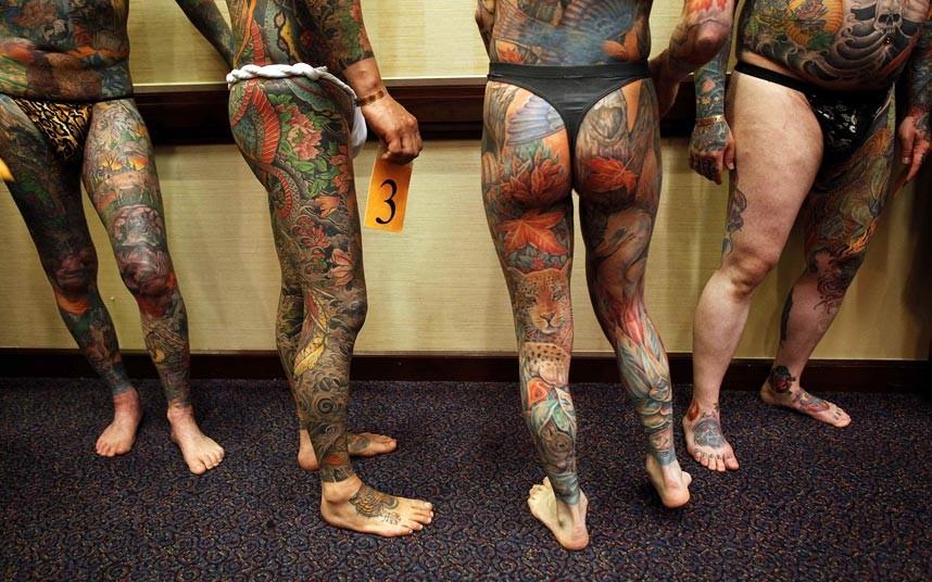 tattoo 09 Среди американцев разыгралась тату мания