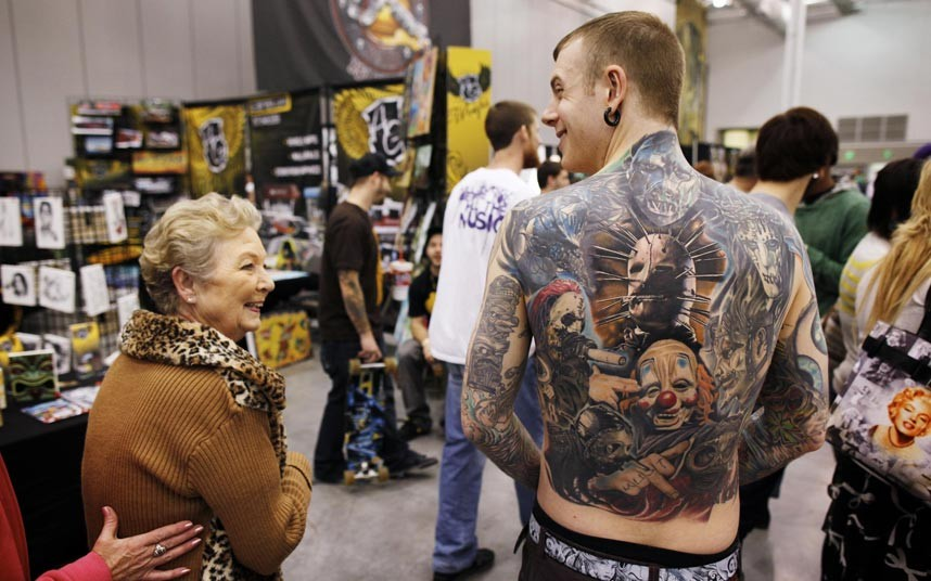 tattoo 16 Среди американцев разыгралась тату мания