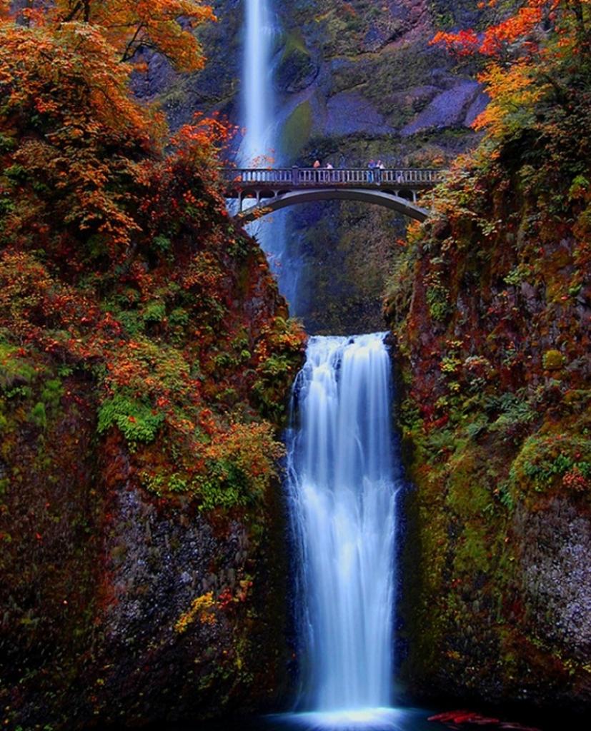 waterfall02 Водопад Малтнома