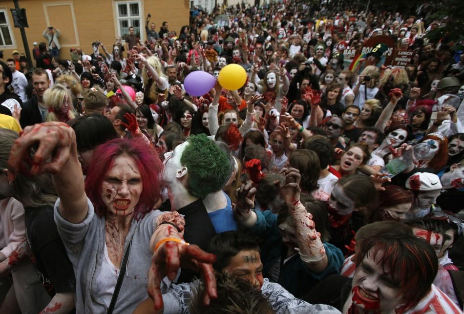 zombie 10 Угроза зомби апокалипсиса в фотографиях