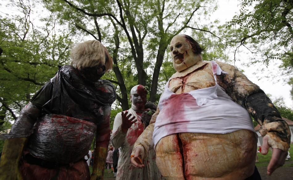 zombie 12 Угроза зомби апокалипсиса в фотографиях