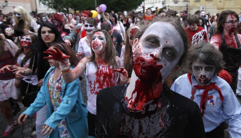 zombie 14 Угроза зомби апокалипсиса в фотографиях