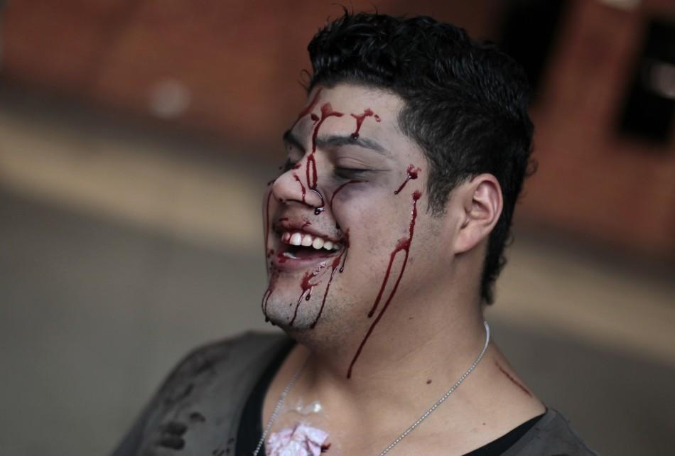 zombie 17 Угроза зомби апокалипсиса в фотографиях