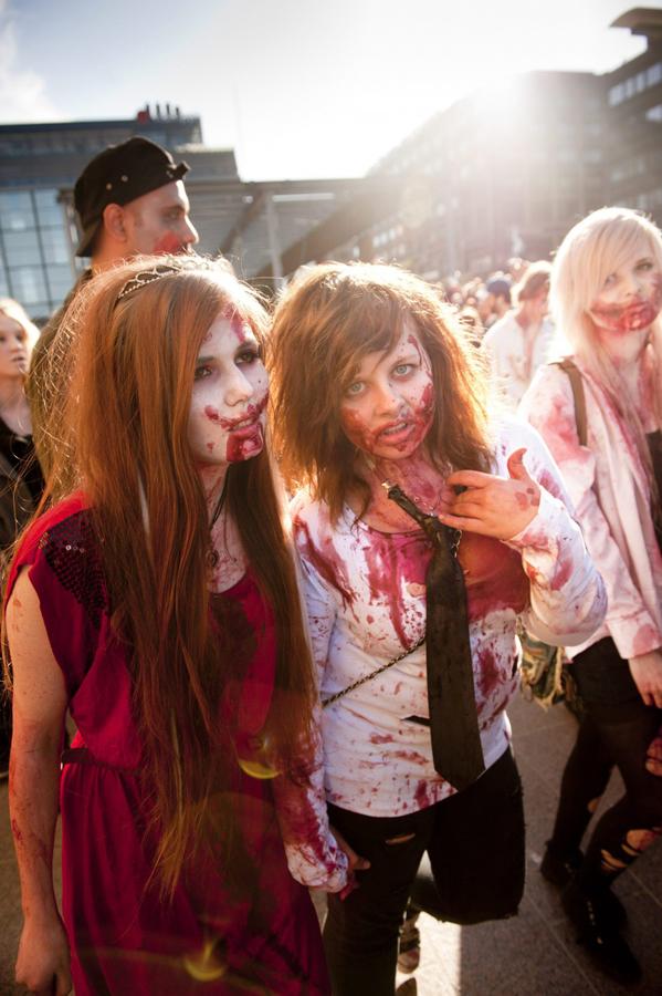 zombie 2 Угроза зомби апокалипсиса в фотографиях