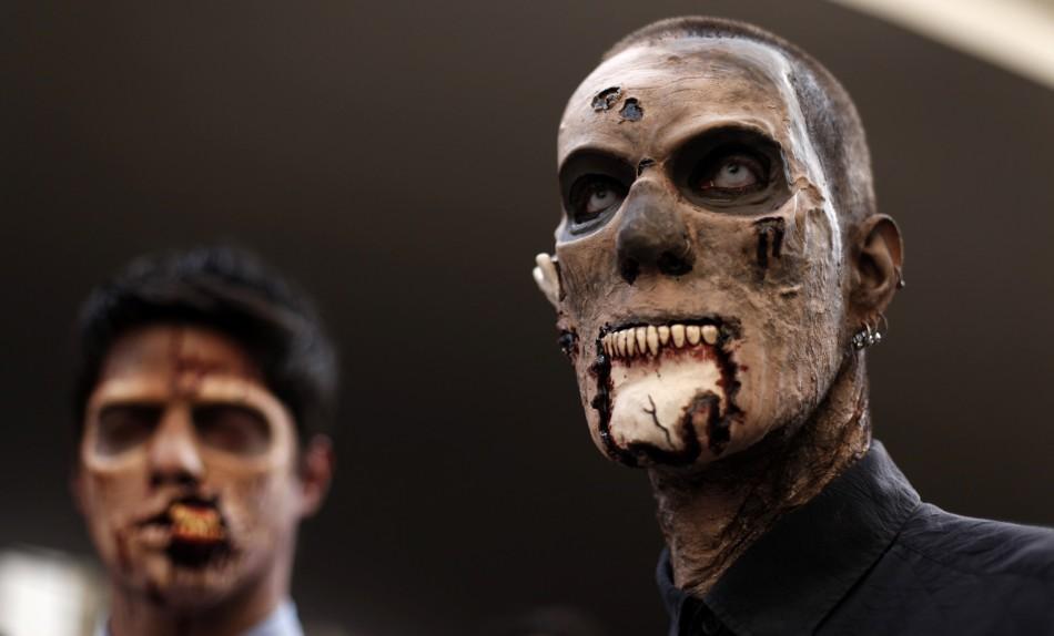 zombie 21 Угроза зомби апокалипсиса в фотографиях