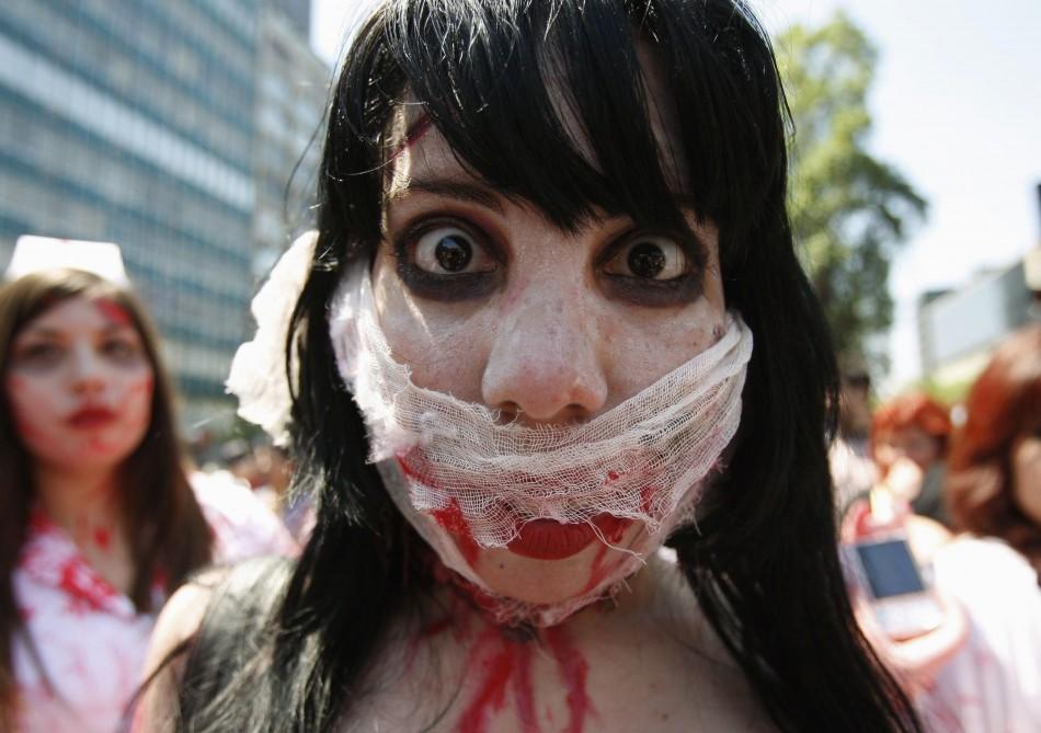 zombie 24 Угроза зомби апокалипсиса в фотографиях