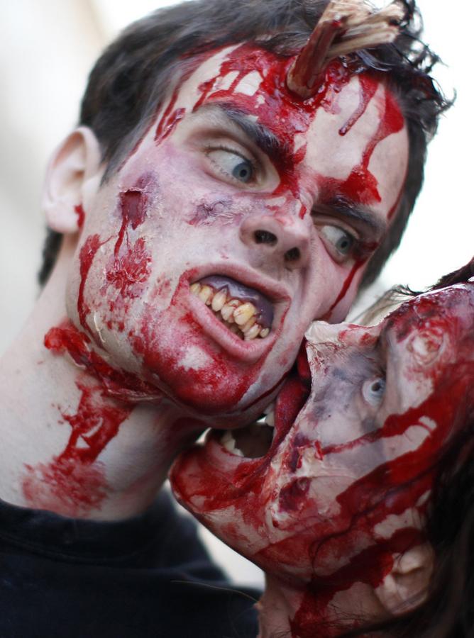 zombie 25 Угроза зомби апокалипсиса в фотографиях