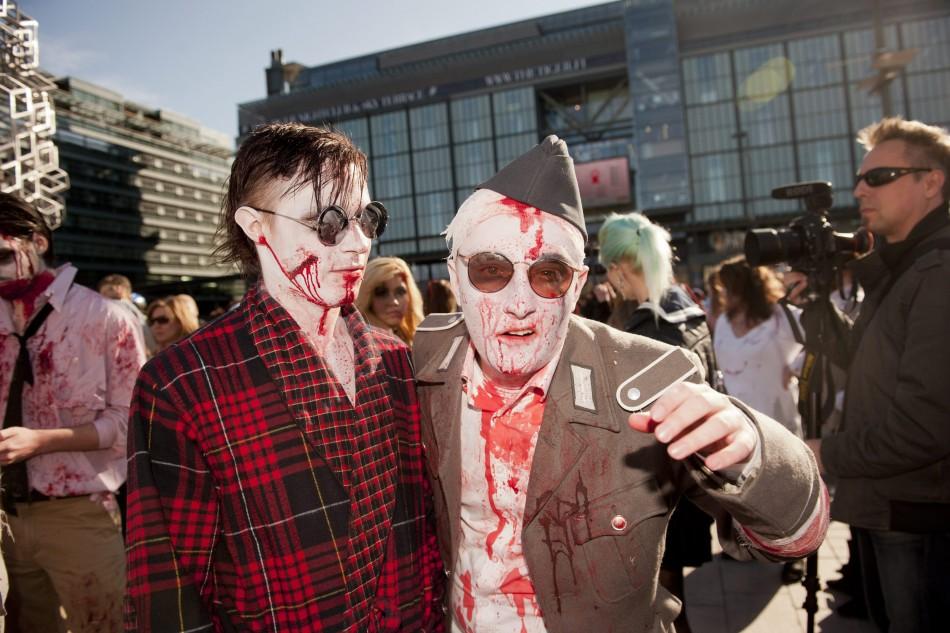 zombie 3 Угроза зомби апокалипсиса в фотографиях