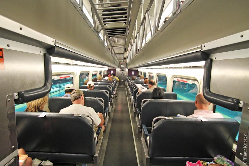 00125 Пригородные поезда в Америке