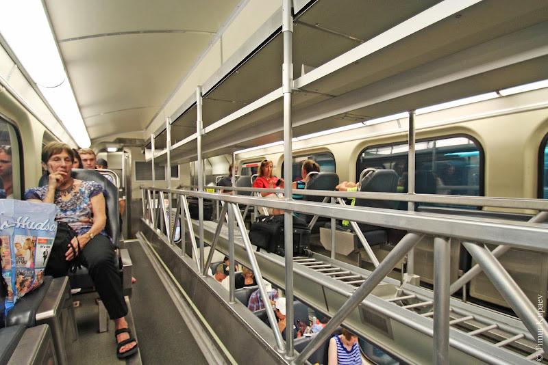 0240 Пригородные поезда в Америке
