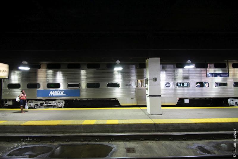 0612 Пригородные поезда в Америке