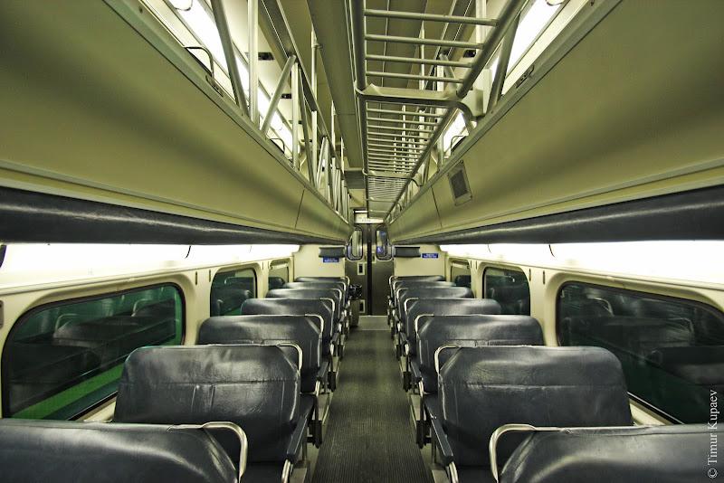 0712 Пригородные поезда в Америке