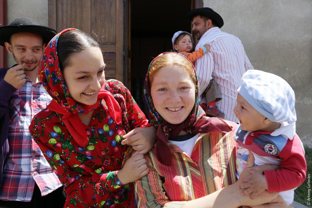 1165 Румыния. Цыгане