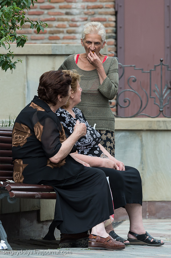 1213 Грузия. Тбилиси. Люди