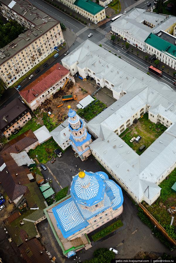 126 Казань с вертолёта: Объекты Универсиады