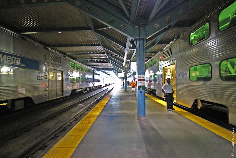 1433 Пригородные поезда в Америке