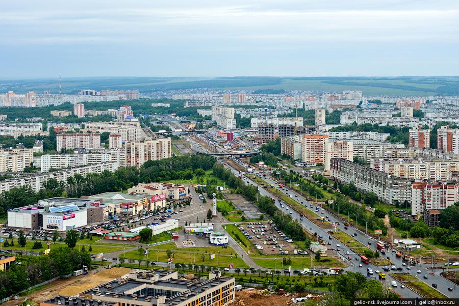 155 Казань с вертолёта: Объекты Универсиады