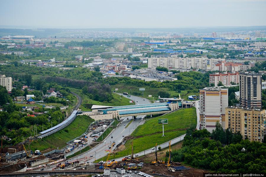 163 Казань с вертолёта: Объекты Универсиады