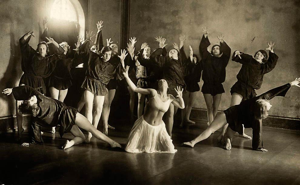 1814 Ретро танцоры