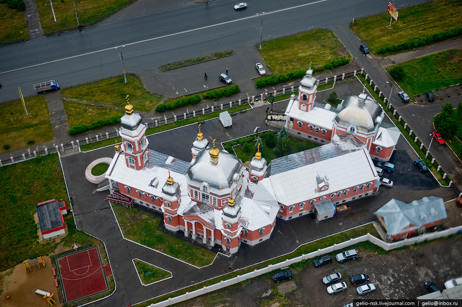 193 Казань с вертолёта: Объекты Универсиады