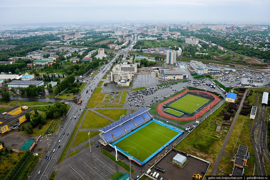 202 Казань с вертолёта: Объекты Универсиады