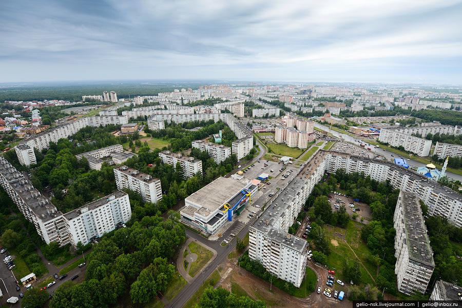 272 Казань с вертолёта: Объекты Универсиады