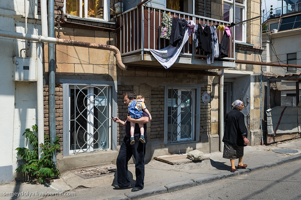 285 Грузия. Тбилиси. Люди