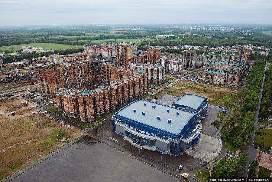 292 Казань с вертолёта: Объекты Универсиады