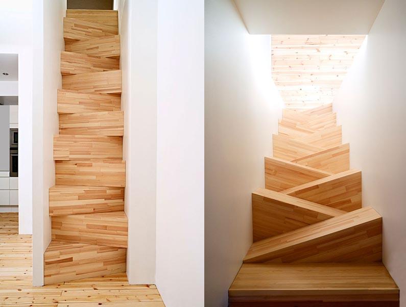 Креативные лестницы своими руками