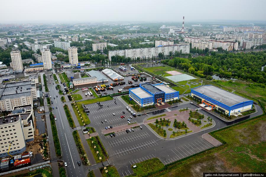 312 Казань с вертолёта: Объекты Универсиады