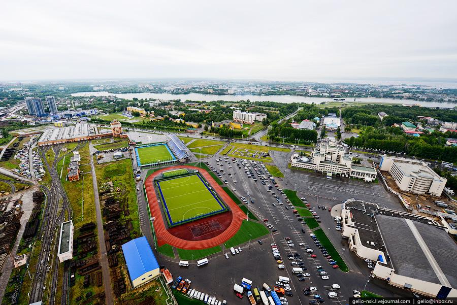 322 Казань с вертолёта: Объекты Универсиады