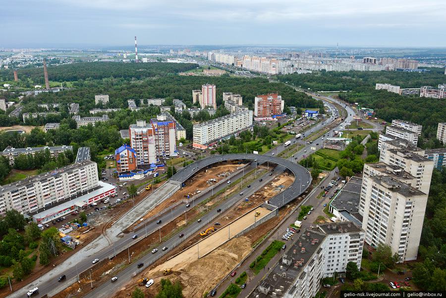 351 Казань с вертолёта: Объекты Универсиады