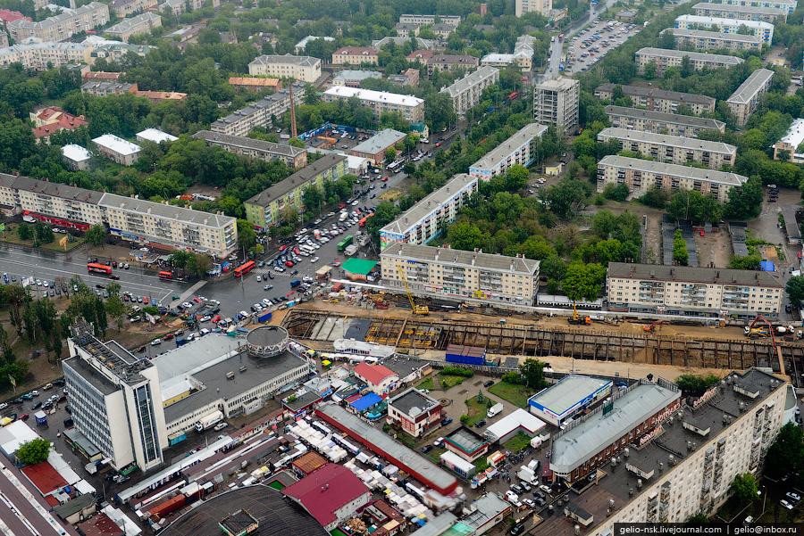 361 Казань с вертолёта: Объекты Универсиады