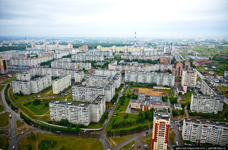 39 Казань с вертолёта: Объекты Универсиады