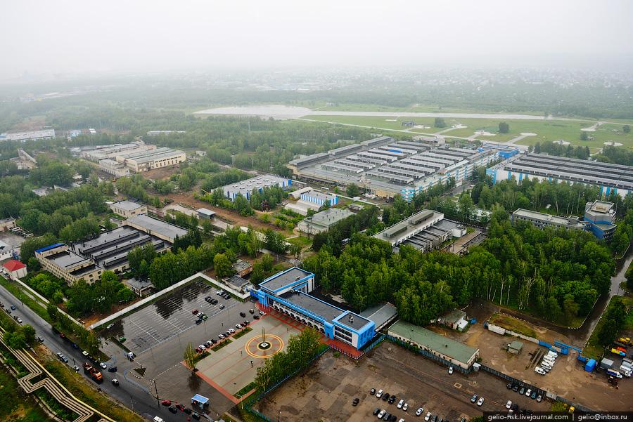40 Казань с вертолёта: Объекты Универсиады