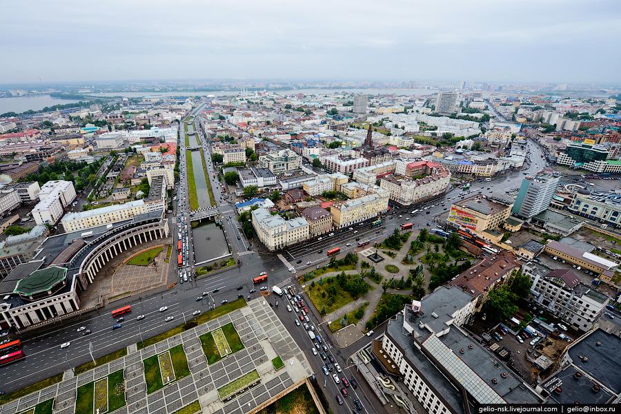 67 Казань с вертолёта: Объекты Универсиады