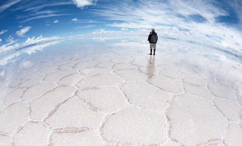 937 Красота отражений на крупнейшем солончаке в мире