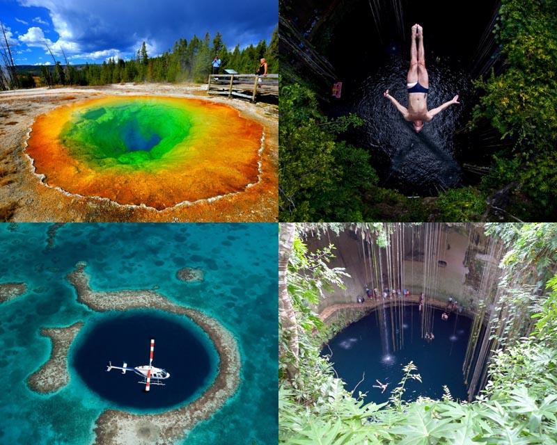 BIGPIC10 6 самых живописных природных дыр в земле