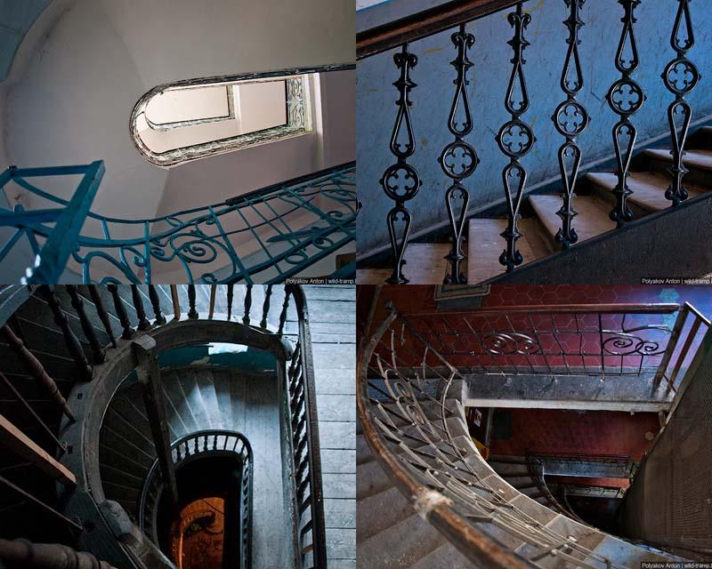 Взгляд изнутри: парадные и лестницы Львова и Черновцов