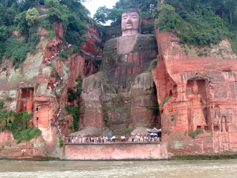 Гигантский Будда в Лэшане