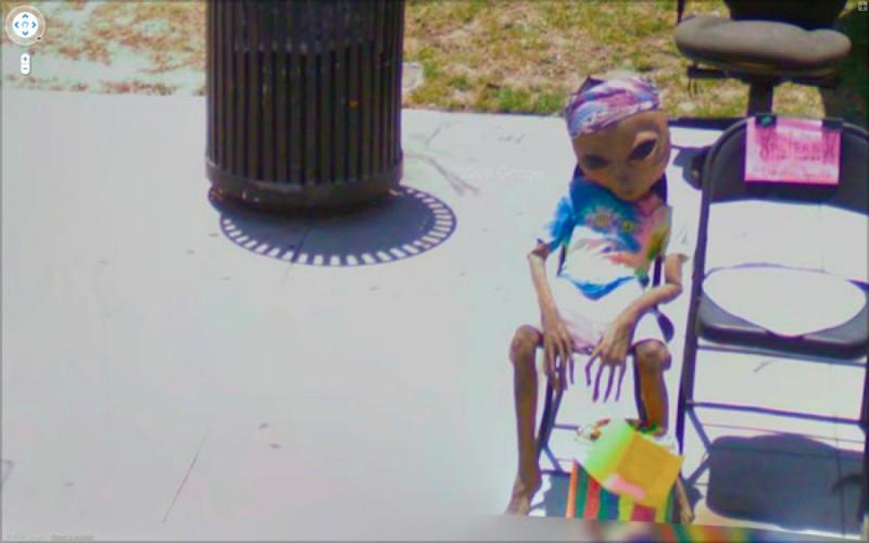 Фотопроект «The Nine Eyes of Google Street View» Джона Рэфмэна