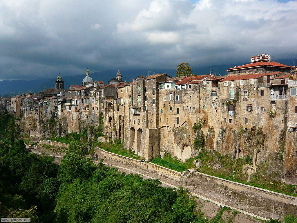 Italia 1 Необыкновенный вид города Сант'Агата де' Готи