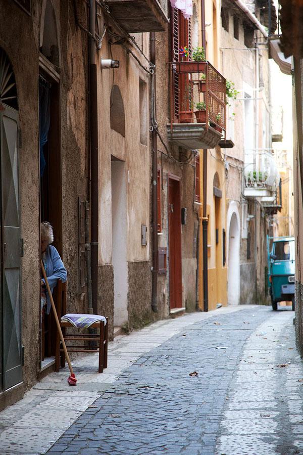 Italia 7 Необыкновенный вид города Сант'Агата де' Готи