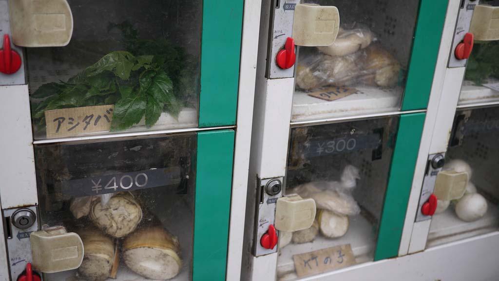 Japan 3 Торговые автоматы в Японии