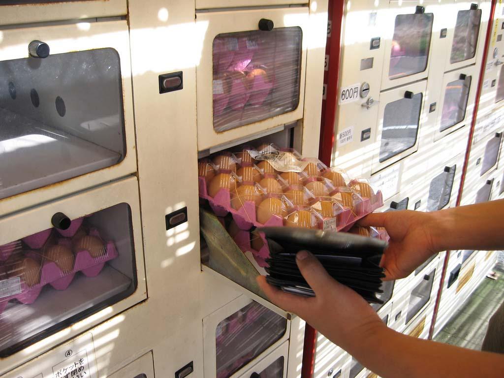 Japan 6 Торговые автоматы в Японии