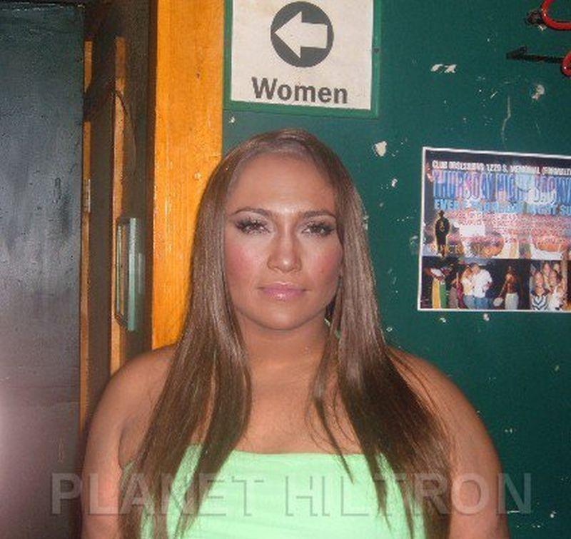 Jennifer Lopez Если бы знаменитости выглядели как обычные люди. Юмористический фотопроект Дэнни Эванса
