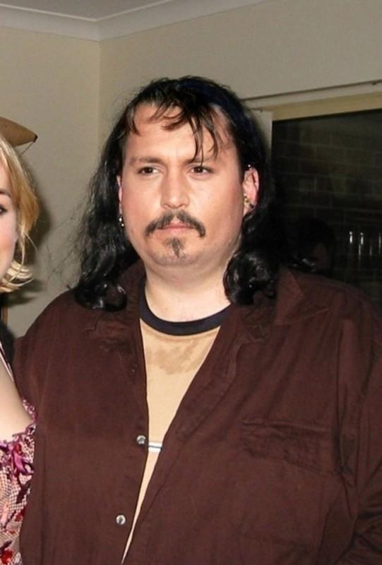 Johnny Depp 541x800 Если бы знаменитости выглядели как обычные люди. Юмористический фотопроект Дэнни Эванса