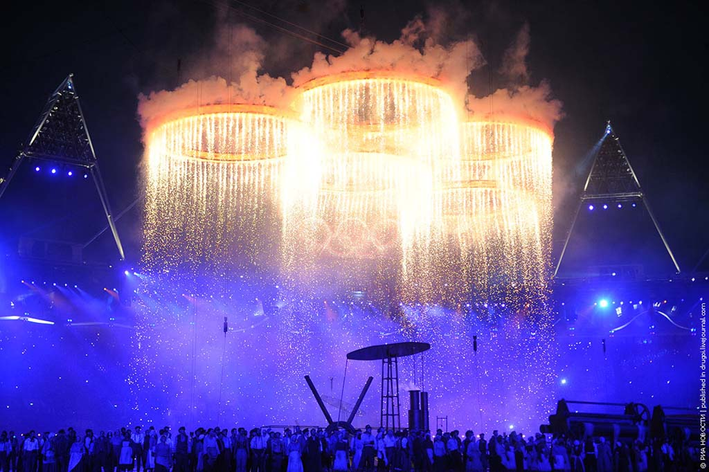 London2012 12 Открытие XXX Олимпийских Игр